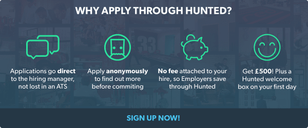 Why Apply Through Hunted 2