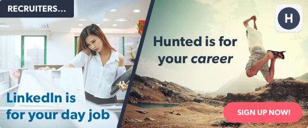 LinkedIn vs Hunted