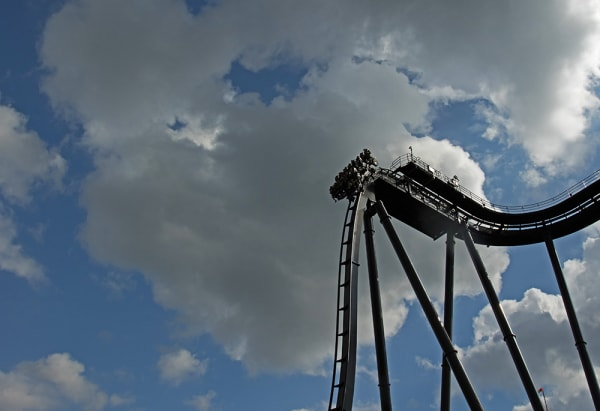 Germany.Heide Park Resort in Soltau.