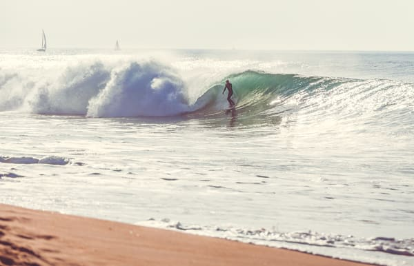 Surfer Barrel 1