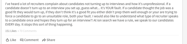 Best of LinkedIn Rant