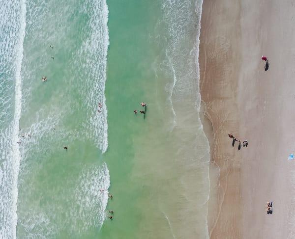 Florida Beach Overhead