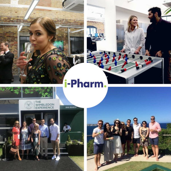 iPharm Collage Talent Team