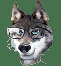 Ed Hunter Wolf Head Google Glass