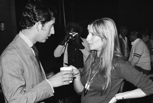 Prince Charles Barbara Streisand