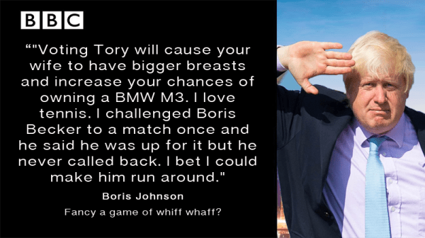 Boris Johnson Apprentice