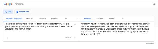 Ed Hunter Translate Candidate