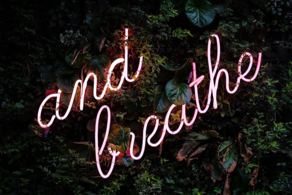 bad mood and breathe