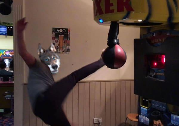 Ed Hunter Punch Bag Machine Fail