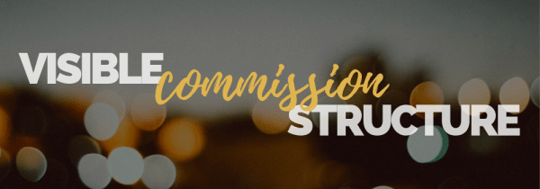 Visible Commission Structure Banner