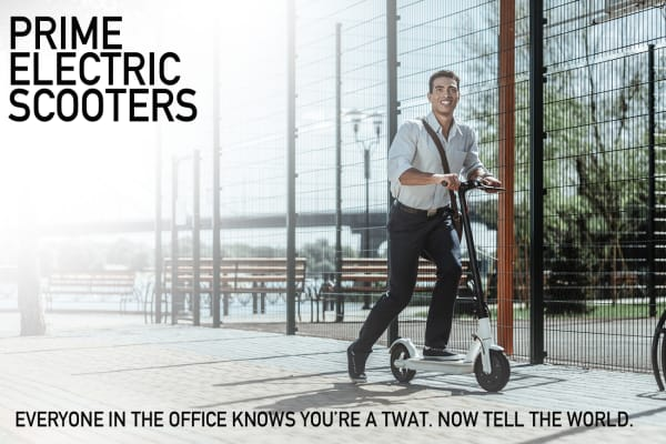 Ed Hunter Electric Scooter Ad