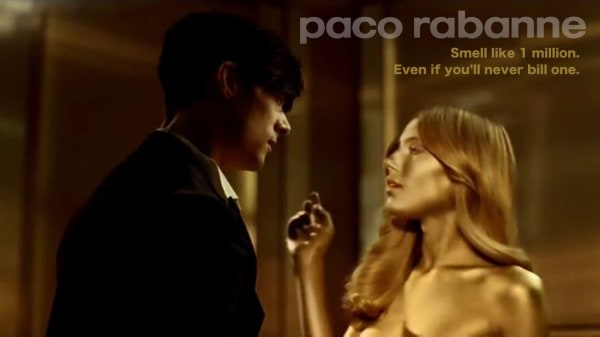 Ed Hunter Paco Rabanne Ad