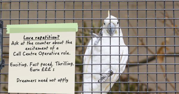 Ed Hunter Call Centre Operative Job Ad