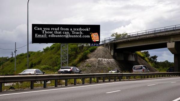 Ed Hunter Teacher job Ad
