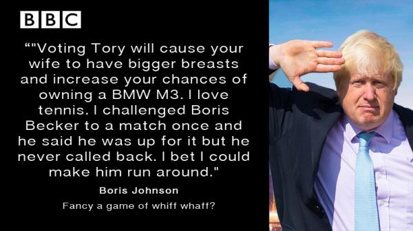 Boris Johnson Apprentice