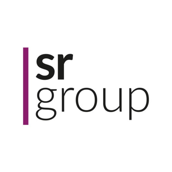 The SR Group logo
