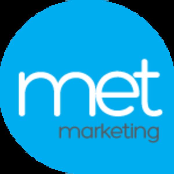 MET Marketing logo