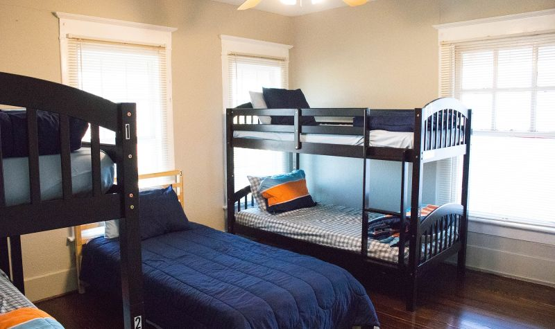 Bishop Arts Bed #4 - Top Bunk Coed