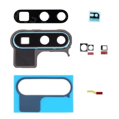 Huawei P30 Pro Aurora Rear Camera Lens Cover With Frame And Adhesive