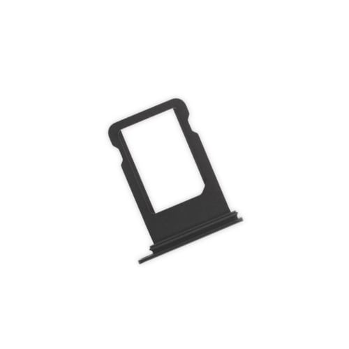 Black SIM Card Tray With Waterproof Gasket For iPhone XS