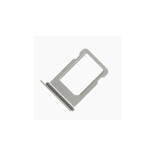 Silver SIM Card Tray With Waterproof Gasket For iPhone XS