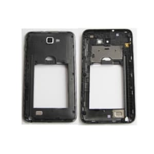 Black Middle Housing Frame with Camera Lens Galaxy Note N7000