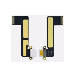 White Charging Port Flex Cable