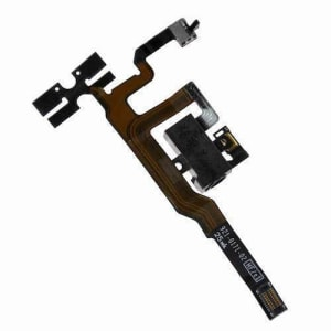 iPhone 4S Black Volume Audio Jack Flex Cable