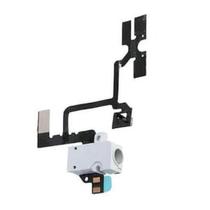 iPhone 4 White Audio Jack Power Volume Flex Cable