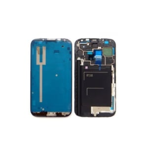 Grey Front Frame Bezel For Galaxy Note 2 N7100