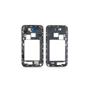 Grey Middle Frame Bezel For Galaxy Note 2 N7100