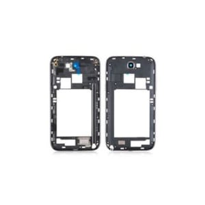 Grey Middle Frame Bezel For Galaxy Note 2 N7105