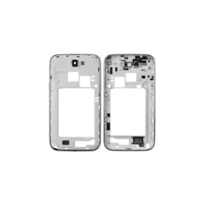 White Middle Frame Bezel For Galaxy Note 2 N7100