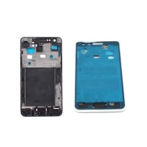 White Faceplate Front Frame For Galaxy S2 i9100