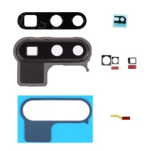 P30 Pro Black Rear Camera Lens Cover With Frame And Adhesive