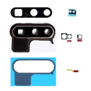 Huawei P30 Pro Grey Rear Camera Lens Cover With Frame And Adhesive