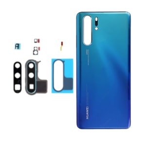 Huawei P30 Pro Peacock Blue Battery Door Cover