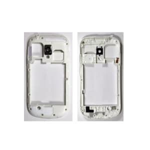 White Middle Frame For Galaxy S3 Mini