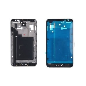 Black Faceplate Frame Front Housing Bezel For Galaxy Note N7000 i9220