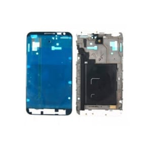 White Faceplate Frame Front Housing Bezel For Galaxy Note N7000 i9220