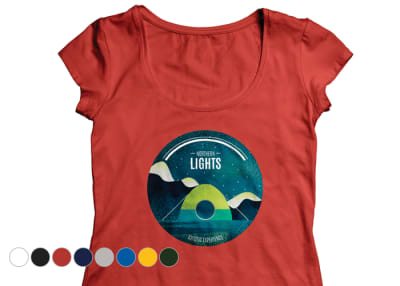 T shirt printing online | Customized T-shirts from Rs 327