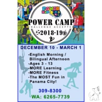 Power Camp 2018 - 2019