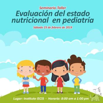Seminario-Taller Evaluación del estado nutricional en pediatría