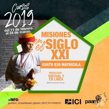 Curso: Misiones en el Siglo XXI