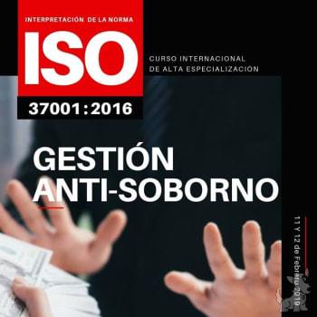 Curso Internacional De Interpretación De La Norma Iso 37001 2016