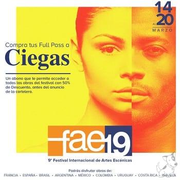 9° Festival Internacional de Artes Escénicas - FAE 19