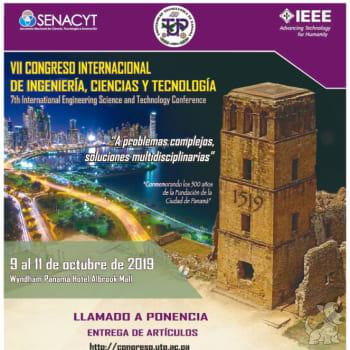 Congreso Internacional de Ingeniería, Ciencias y Tecnología(IESTEC 2019)