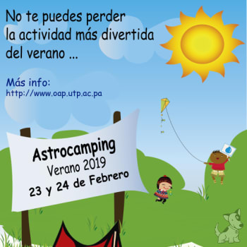 Astrocamping Verano 2019