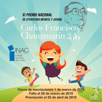 XI Premio Nacional de Literatura Infantil y Juvenil - Carlos Francisco Changmarín 2019