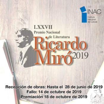 Convocatoria - Concurso Literario Ricardo Miró 2019